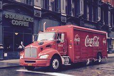 Coca Cola bil