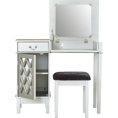 You'll love the Oliver Vanity Set with Mirror at Wayfair - Great Deals on all Furniture  products with Free Shipping on most stuff, even the big stuff.