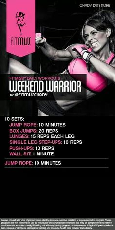 FitMiss Weekend Warrior