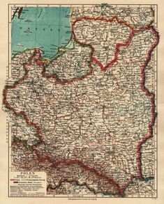 Krakow Poland, Flags Of The World, Vintage Maps, Europe Destinations, European History, Historical Maps, Family History, City Photo, Slipper Socks