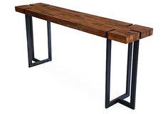 Planque Console Table, Natural on OneKingsLane.com