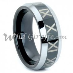 Wholesale Tungsten Ring. WRTG9532 Tungsten Band, Sizes 9-13