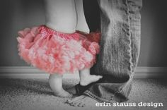 tutu, daddy's girl, baby photography