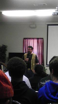 Pastor Brian Graves.