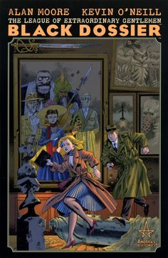 The League of Extraordinary Gentlemen: The Black Dossier (Alan Moore, Kevin O'Neill)