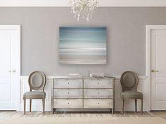 Canvas Wall Art: Beach Decor, Ready to Hang Beach Decor, Beach Canvas Print, Ocean Blue Pastel Soft Turquoise Aqua Beige Waves Water. Beach Canvas Art, Modern Canvas Art, Beach Wall Art, Abstract Canvas Art, Blue Canvas, Modern Wall Art, Canvas Wall Art, Large Canvas, Turquoise Wall Art