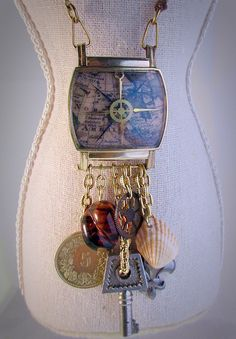 A personal favorite from my Etsy shop https://www.etsy.com/listing/266710816/time-traveler-steampunk-compass-and