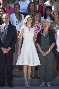 """LA REINE LETIZIA D'ESPAGNE """" 25E EDICION DE LOS PREMIOS FEDEPE """" - PRINCESS MONARCHY"""