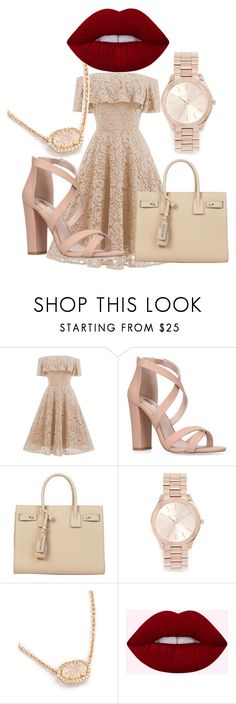 """Untitled #114"" by paige05campbell on Polyvore featuring Yves Saint Laurent and Michael Kors"