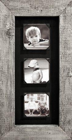 Sugarboo Designs Triple Reclaimed Wood Frame