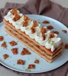 You searched for Mille feuille praliné - Rock the Bretzel Pastry Recipes, Baking Recipes, Dessert Recipes, Gateau Cake, Napoleon Cake, Dessert Restaurants, Colorful Desserts, Sweet Pastries, Gorgeous Cakes