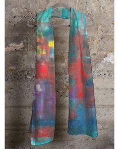 """So Many Stories"" Modal Cashmere Scaff http://shopvida.com/collections/voices/graciela-blancarte"