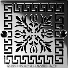 Shop A Huge Selection Of Unique Designer Shower Drain Covers Made From  Eco Friendly Reclaimed Stainless Steel