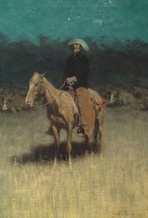 frederic remington: cowpuncher's lullaby