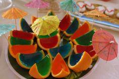 Orange Peel Jello Shots - FaveThing.com