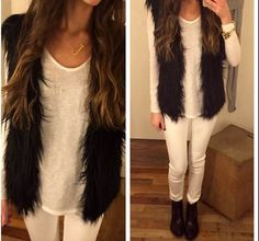 Wintry Whites! #Fashion #Style #ootd #streetstyle #shoppable #shopthelook