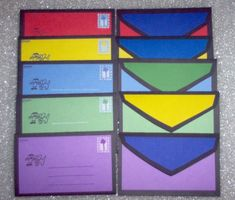 10 Blues Clues letters from Steve Joe Mailbox Notebook stationary