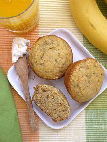 Banana Corn Muffins | Weelicious