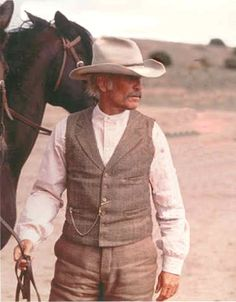Lonesome Dove!!!  Robert Duval as Augustus McCrae.  One of my all time favorite characters!