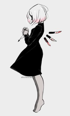 maybe with a longer dress and i could draw on wings :o Creepy Drawings, Dark Art Drawings, Creepy Art, Art Drawings Sketches, Cool Drawings, Drawing Reference Poses, Drawing Poses, Dark Art Illustrations, Illustration Art