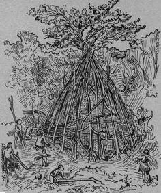 the First Building - Viollet-le-Duc
