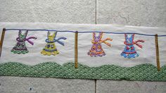 aprons on a line...the beginning of my row quilt   Flickr - Photo Sharing!