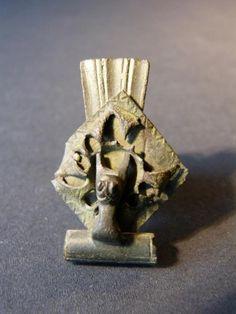Antique for sale Roman fibula in peacock tail and lion Animal sculpture Sculpture Fine arts architecture