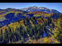 Mt Timpanogos, Utah in the Fall