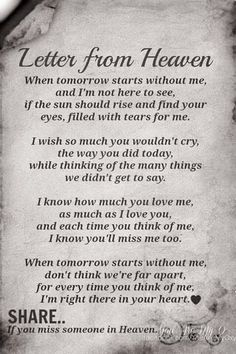 I miss you both so much                                                                                                                                                                                 More