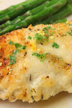 MELT IN YOUR MOUTH CHICKEN BREAST} 4 boneless chicken breast halves;1 c. mayonnaise;1/2 c. grated parmesan cheese;1 1/2 t. season salt;1/2 t. pepper;1 t. garlic powder} Mix mayonnaise, cheese and sasonings; Spread mixture over chicken and place in baking dish; Bake 375°F for 45 minutes.