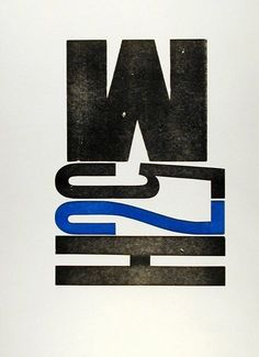 SFMOMA | Explore Modern Art | Our Collection | Jack W. Stauffacher | Wooden Letters from 300 Broadway [M5]