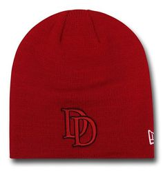 Be bold like Marvel's Matt Murdock with the 100% acrylic Daredevil Symbol Red Beanie! I say that because let's be honest...that red pops, doesn't it? Now you just need to work on the no-fear part and your blind-style of acrobatics and you'll be the ever vigilante protector of Hell's Kitchen in New York and you never know...the Daredevil Symbol Red Beanie from New Era may even act like a BAR certification though you may want to go over the paperwork on that one. <br>