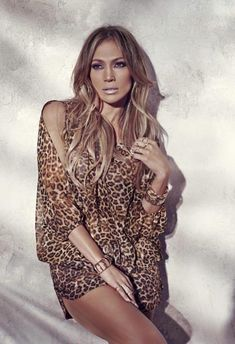 Singer and actress Jennifer Lopez follows up her 'Back it Up' music video with new images for her Kohl's summer collection. J.Lo looks like her usual glamorous self with her hair in blonde waves while sporting a leopard print top and matching shorts in one image. For the other, Jennifer sports bohemian print dress with …