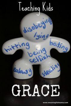 Teaching grace to your kids: 1-#grace #teaching kids #Bible-001