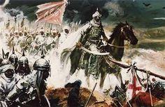 03julio de 1086; Las tropas de Yusuf ibn Tašufin llegan a Algeciras, tras haber sido éste reclamado por las taifas de Sevilla, Granada, Málaga, Almería y Badajoz ante la amenaza de los ejércitos de Alfonso VI de León