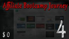 (E4) My #Affiliate Bootcamp #Journey from $0 to $? 3 Weeks Done. Results $0 https://www.youtube.com/watch?v=7c9TmtwkhEM