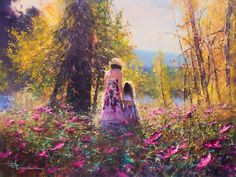 (Australia) by Robert Hagan. Oil on canvas. Robert is one of the most versatile living artists today, being able to paint all various types of subject matters. From westerns to maritime, from romantics to abstracts, Roberts paintings are sure to impress any viewer.