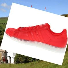 2015 Adidas Men's Shoes Superstar Clr Red,White to be your best course partner
