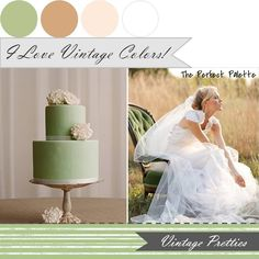 Vintage Pretties http://www.theperfectpalette.com/2011/11/color-your-wedding-beautiful-palettes-i.html