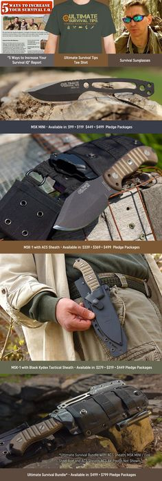 MSK-1: An Awesome Survival Knife, that Chops Like a Hatchet, Cuts Like a Fine Carving Tool, is Full of Surprises and Made in the USA