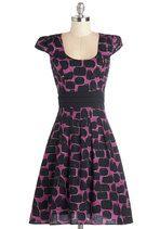 Black Cat It Again Dress | Mod Retro Vintage Dresses | ModCloth.com