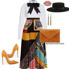 Women S Fashion Questions Church Fashion, Work Fashion, Fashion Looks, Fashion Tips, 80s Fashion, Fashion Ideas, Fashion Jewelry, Classy Fashion, Fashion Beauty