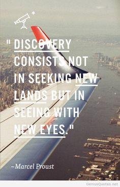 Seeking new lands quote