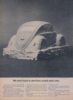 1964 Volkswagen Bug Auto Advertisement ~ Wall Art Decor  Original, rare vintage…
