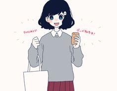 animation, anime, and girl image