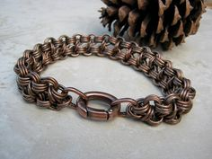 jewelry collections copper antiqued braided healing bracelet dragonweave cuffs inches unisex bracelets antique