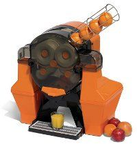 This may be a ridiculously complicated orange juicer, but it looks like a cannon so I like it.