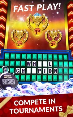 wheel of fortune | toss-up challenge | wheel puzzles | pinterest, Powerpoint templates