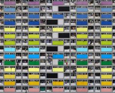 Dense City: Photos Show Tightly-Packed Hong Kong Towers