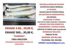 solomillos del mejor bacalao en salazon de España